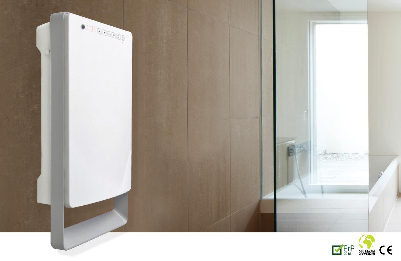 Verwarming Badkamer Watt : E comfort aurora touch wit watt drl products