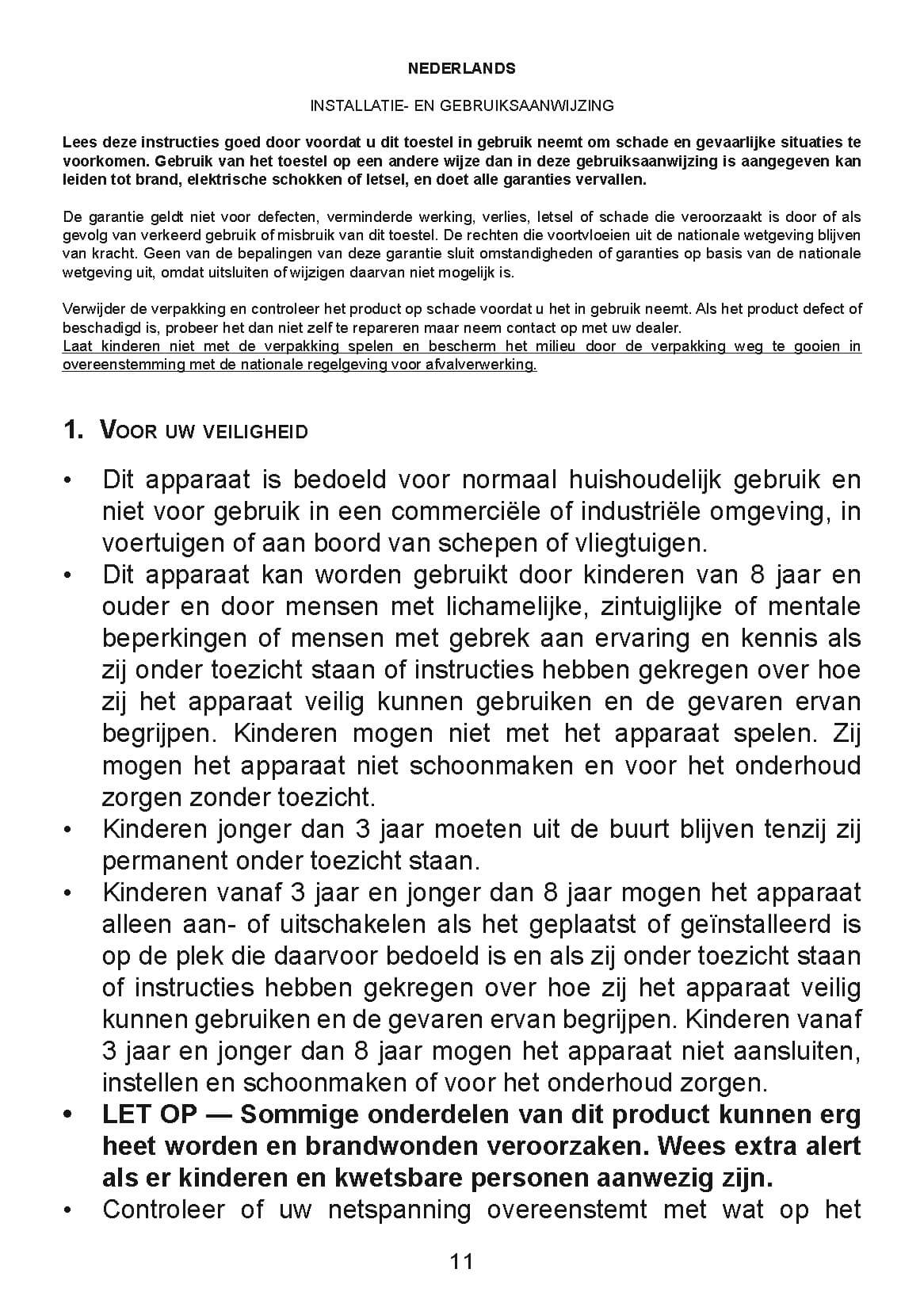 H-70.20_H-DRL-E_Comfort_Deva_Handleiding_NL_2018_Pagina_11