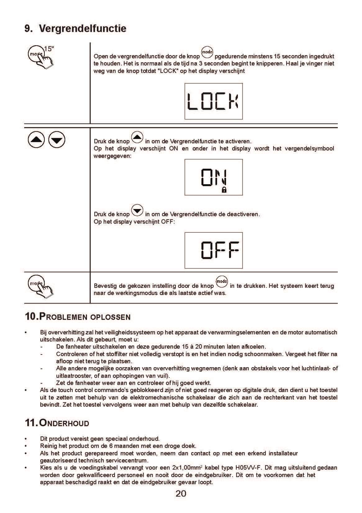 H-70.20_H-DRL-E_Comfort_Deva_Handleiding_NL_2018_Pagina_20