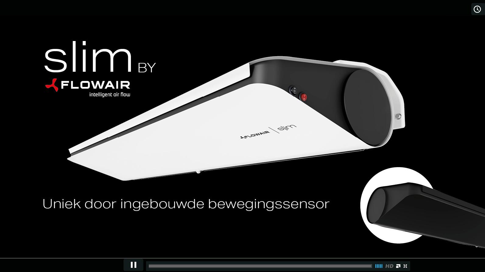 Flowair By DRL SLIM luchtgordijnFilmCov